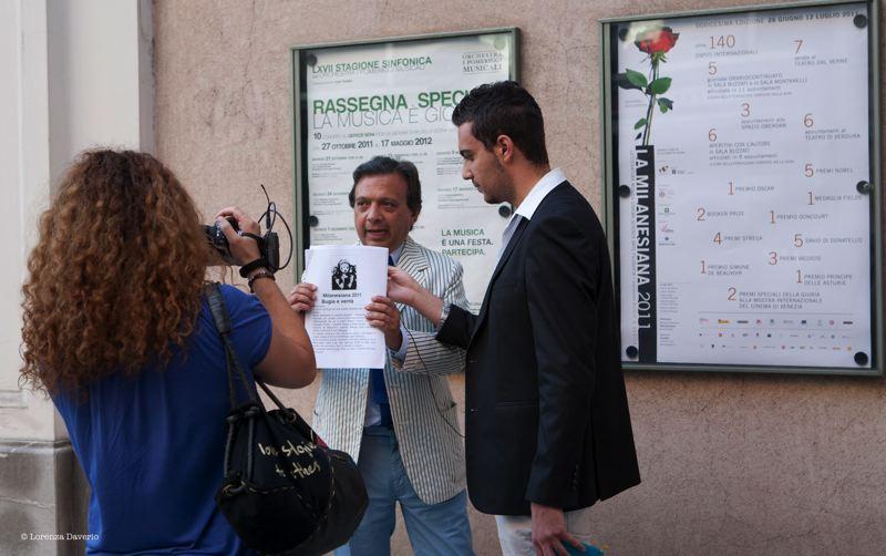 Milanesiana 3 luglio 2011