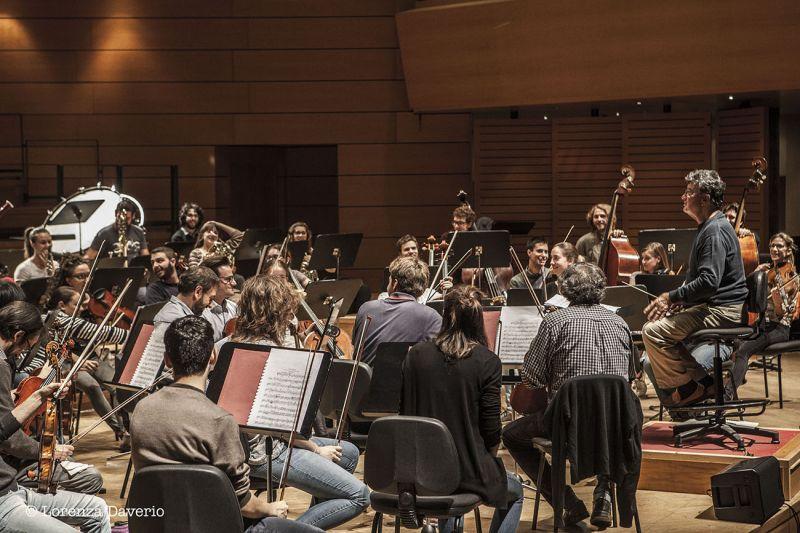 72a Stagione Sinfonica: Prove Aldo Ceccato – Orchestra dei Conservatori della Lombardia e del Canton Ticino