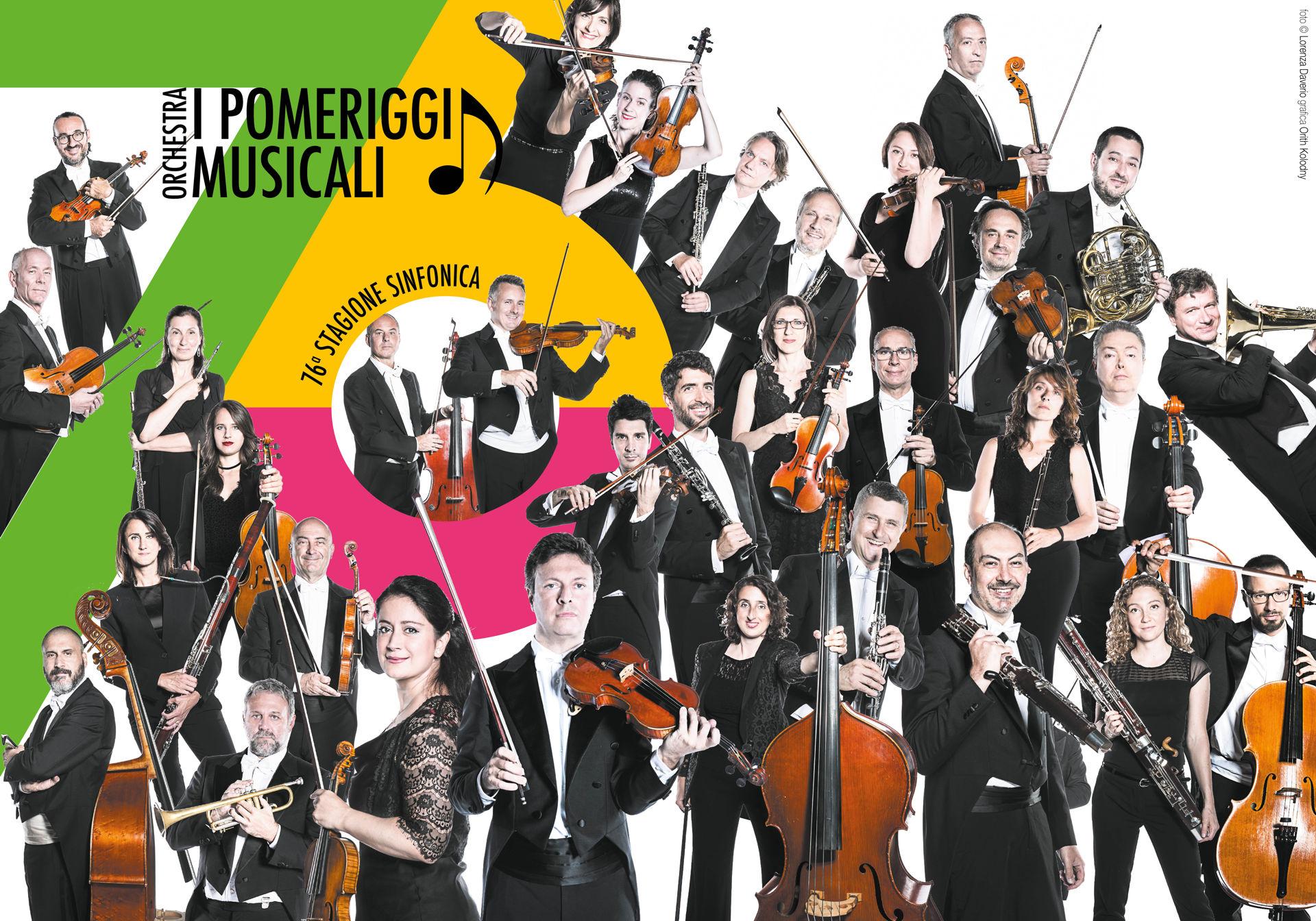 Foto Ufficiali 76a Stagione Sinfonica Orchestra I Pomeriggi Musicali