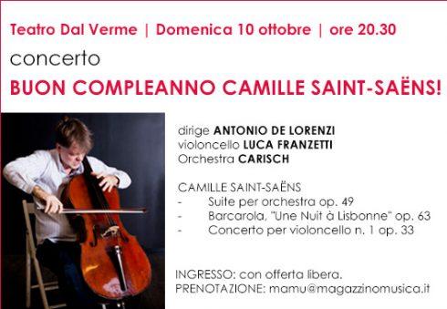 Buon compleanno Camille Saint-Saëns!